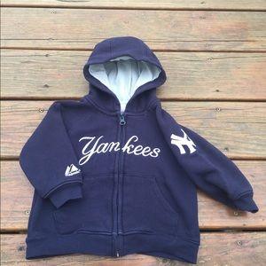 Yankees Zipper Hoodie